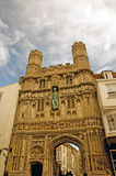 The old cathedral gate Royalty Free Stock Photo