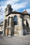 Old Cathedral in Geneva Royalty Free Stock Images
