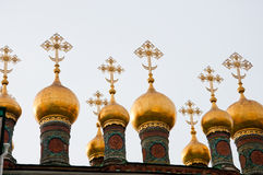 Old cathedral,  Kremlin, Moscow, Russia Royalty Free Stock Photo