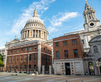 Old Cathedral in London Stock Image