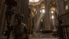 Metropolitan Cathedral in Zocalo, Mexico royalty free stock photos
