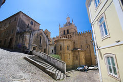 Free Old Cathedral Or Se Velha Of Coimbra, Portugal Royalty Free Stock Image - 77574886