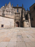 Old Cathedral in Plasencia Stock Photo