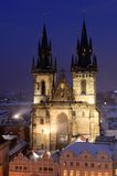 Old cathedral in Prague Stock Images