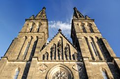 Old cathedral in Prague Stock Photography