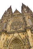 The old cathedral of Prague Stock Image