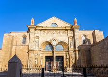 Old cathedral of Santo Domingo Royalty Free Stock Photo