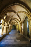 Old Cathedral or Se Velha of Coimbra, Portugal royalty free stock photography