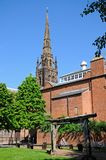 Old Cathedral Spire, Coventry. Royalty Free Stock Photography