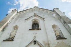 Old cathedral western Ukrain. E Terebovlja district vilage loshniv Stock Images