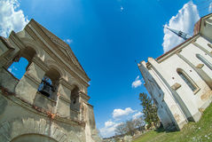 Old cathedral western Ukraine. Terebovlja district royalty free stock images