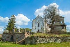 Old cathedral western Ukraine. Terebovlja district Stock Photo