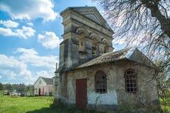 Old cathedral western Ukraine. Terebovlja district vilage loshniv Stock Images