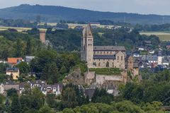 Free Old Catholic Basilica Church In Dietkirchen, Close To Limburg Stock Photography - 142211672