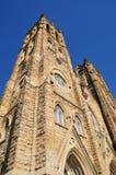 Old catholic church. Image of a stone catholic church Stock Image