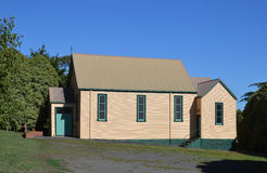 Old Catholic Church in Australia. St Vincents is a weatherboard catholic church in Loch, Gippsland, Victoria. Photo taken 6th February, 2016 royalty free stock photo