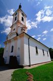 Old Catholic church in Croatia. Old Catholic church of the Virgin Mary in Croatian town Slavonski Brod Royalty Free Stock Images