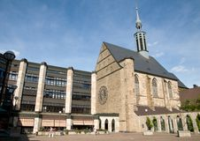 The Old-Catholic Church in Dortmund Stock Images