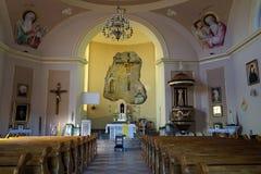 Old catholic church Stock Image