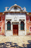 Old Catholic church in Murano, Veneto, Italy Stock Photography