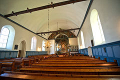 Old catholic church at Norway Stock Image