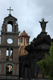 Old Catholic Church in Otavalo Stock Image