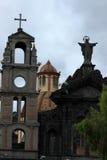 Old Catholic Church in Otavalo Stock Image