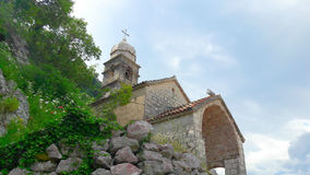 The old Catholic Church on top of a mountain. Royalty Free Stock Photography