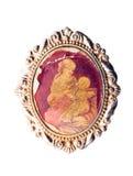 Old Catholic icon Stock Images