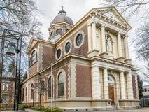 Old Catholic Saint Vitus Church in Hilversum, Holland Stock Images