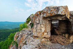 Old Cave In Mountain Royalty Free Stock Image
