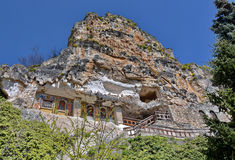 Old cave monastery royalty free stock image