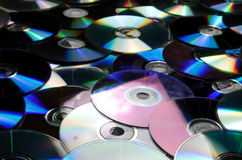 Old cd compact disc Royalty Free Stock Photos