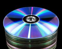 Old CDs Royalty Free Stock Images