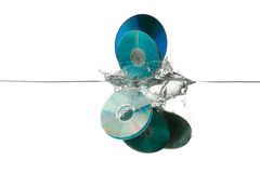 Old CDs Royalty Free Stock Photography