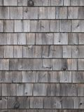 Old cedar wood wall vertical Stock Image