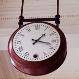 Old ceiling clock Stock Photo