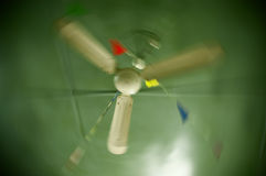 Old ceiling fan Royalty Free Stock Image