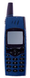 Old cell phone. Isolated with clipping path Royalty Free Stock Image