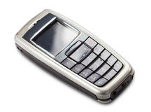 Old cell phone Stock Images