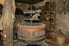 Old cellar. In Croatia castle Stock Photo