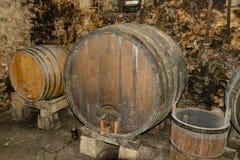Old cellar. In Croatia castle Stock Image