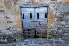 Old cellar door Royalty Free Stock Images