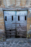 Old cellar door Royalty Free Stock Photo
