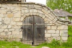 Old cellar of rakushnyaka Stock Photo