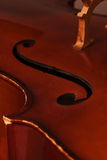 Old cello Royalty Free Stock Photography