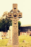 Old celtic cross Royalty Free Stock Photos