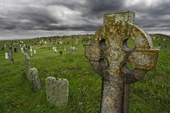 Old Celtic gravesite stock images