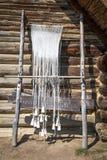 Old Celtic loom stock photos