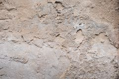 Old Cement concrete texture wall as background. And brick to design background Royalty Free Stock Image